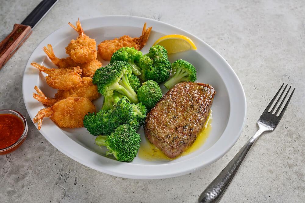 Steak & Shrimp Combo