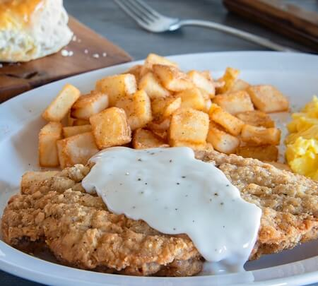 Country Fried Steak Breakfast*
