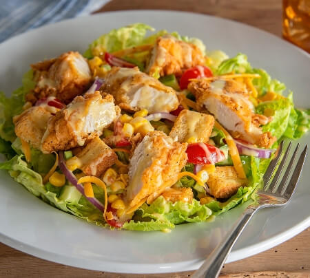 Southern Crispy Chicken Salad