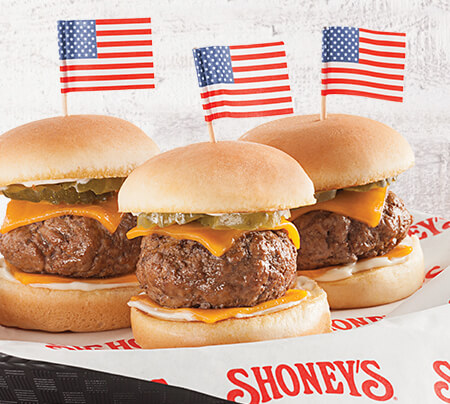 Shoney's® Sliders*