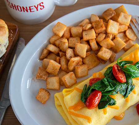 Create-Your-Own Omelet