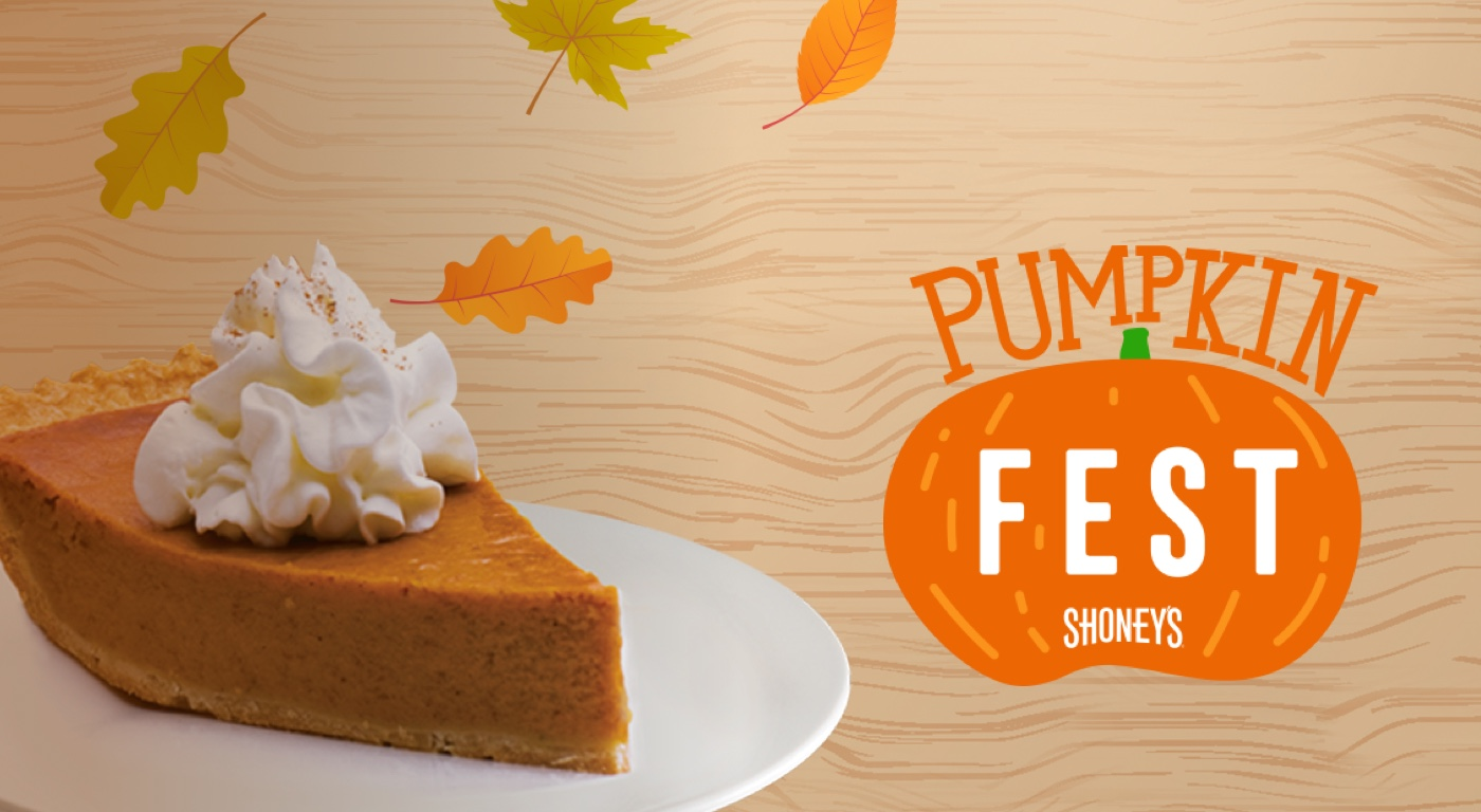 Pumpkin Fest Logo and Beautiful Pumpkin Pie