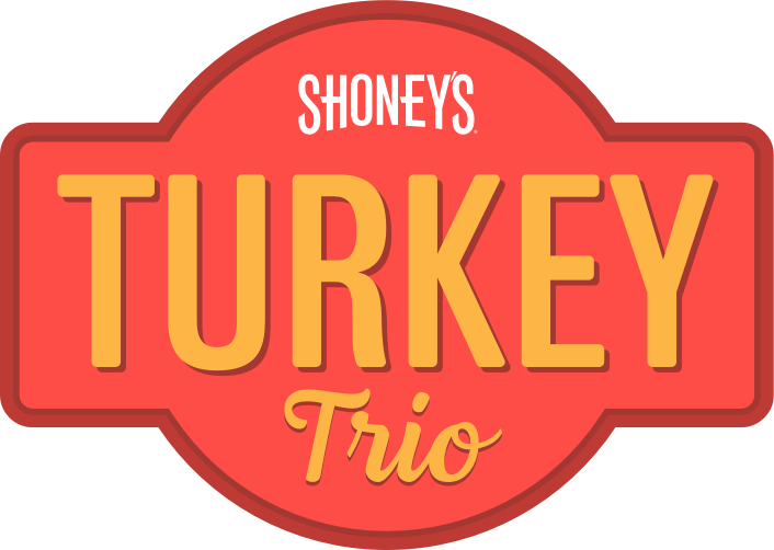 Shoney's Turkey Trio