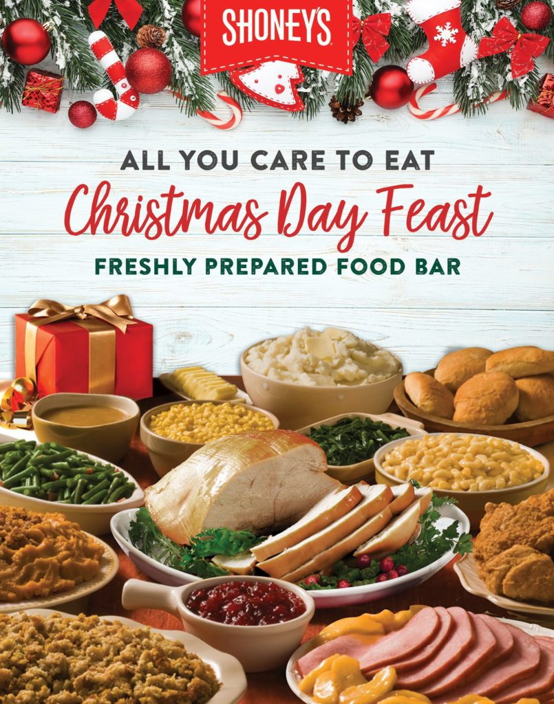 Shoneys In Knoxville Christmas Day Hrs For 2020 Shoney's Doors Will be Open for a Christmas Day Feast on Wednesday