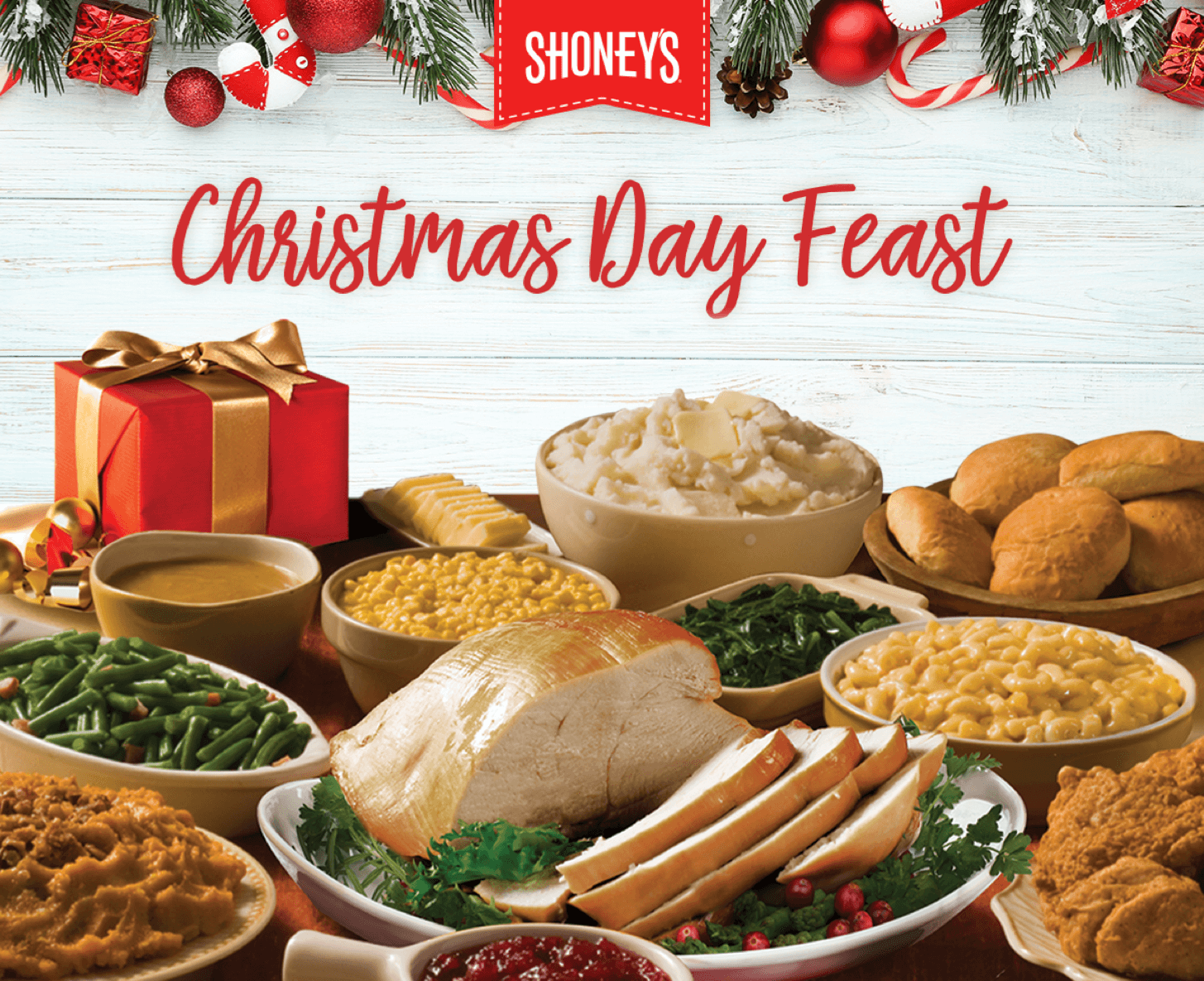 Shoney's Christmas Day Feast