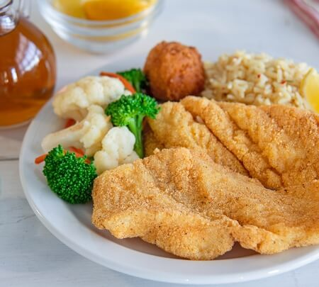 Crispy Whitefish Filets